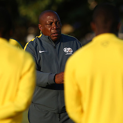 DURBAN, SOUTH AFRICA - Wednesday 10th June 2015 Shakes Mashaba during The Bafana Bafana training session at  Moses Mabhida Stadium on Wednesday 10th June 2015 in Durban, South Africa<br /> Photo by Steve Haag