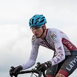 2019-11-03: Cycling: Superprestige: Ruddervoorde: Alekks Krast has come the whole way from Latvia to race in Belgium