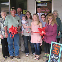 PAUL FULLERTON/BUY AT PHOTOS.MONROECOUNTYJOURNAL.COM<br /> A ribbon cutting was held for Southern Glow Tanning Co., located at 113 N. Main St. in Amory.