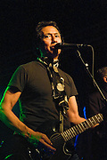 Alejandro Escovedo performs at a benefit for Austin Child Guidance Center at La Zona Rosa, Austin Texas, July 2, 2009.  Austin Child Guidance Center provides mental health services for children and their families as well as community education. Alejandro Escovedo (b. 1951, San Antonio, Texas) is a Mexican-American musician and singer-songwriter.