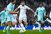 Leeds United defender Stuart Dallas (15) in action during the EFL Sky Bet Championship match between Leeds United and Queens Park Rangers at Elland Road, Leeds, England on 2 November 2019.