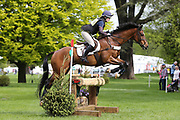 Alice Ford riding Tregeare during the International Horse Trials at Chatsworth, Bakewell, United Kingdom on 12 May 2018. Picture by George Franks.