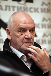 November 21, 2018 - Vilnius, Lithuania - 11/20/2018. , Eimuntas Nekrosius, a Soviet and Lithuanian theater director, died at the age of 65. Photo: Photoagency Interpress (Credit Image: © Russian Look via ZUMA Wire)