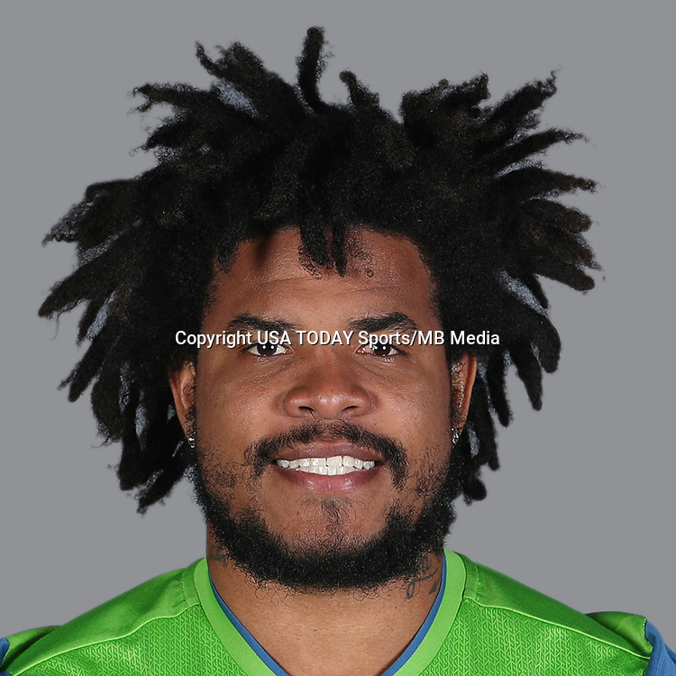 Feb 25, 2017; USA; Seattle Sounders FC player Roman Torres poses for a photo. Mandatory Credit: USA TODAY Sports