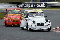 #66 Louis TYSON Citroen 2CV 602 during 2CVParts.com Classic Championship as part of the BARC NW - Championship Raceday  at Oulton Park, Little Budworth, Cheshire, United Kingdom. March 19 2016. World Copyright Peter Taylor/PSP. Copy of publication required for printed pictures.  Every used picture is fee-liable.