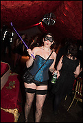 CLARE GARRARD; , The Dark Side of Love, Valentine's Masked Ball. the Coronet Theatre, Elephant and Castle. London. 13 February 2015.