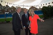 JEREMY PAXMAN; GEORDIE GREIG; RACHEL JOHNSON, Rachel Johnson book launch of Fresh Hell, Acklam Village Market, Acklam Rd. London W10.