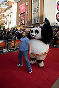 JACK BLACK,  Film premiere of Kung Fu Panda. Vue West End. Leicester Sq. London. 26 June 2008.  *** Local Caption *** -DO NOT ARCHIVE-© Copyright Photograph by Dafydd Jones. 248 Clapham Rd. London SW9 0PZ. Tel 0207 820 0771. www.dafjones.com.