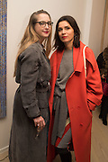 DAISY DE VILLENEUVE; LARA BOHINC, Launch of the Dutko Gallery  the first commercial space in London dedicated to Art Deco design. 18 Davies Street , Mayfair. London. 15 October 2015