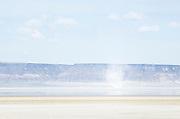 Dust Devil on dry Alvord Lake, a seasonal shallow alkali lake in Harney County, Oregon