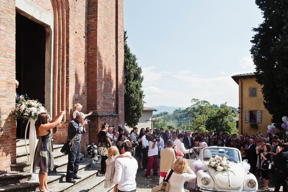 23 JUL 2011 - Monteveglio (Bologna) - Città di Transizione - Matrimonio all'Abbazia