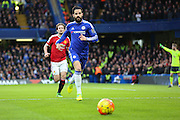 Chelsea's Cesc Fabregas during the Barclays Premier League match between Chelsea and Manchester United at Stamford Bridge, London, England on 7 February 2016. Photo by Phil Duncan.