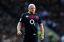 Dan Cole of England - Mandatory byline: Patrick Khachfe/JMP - 07966 386802 - 19/11/2016 - RUGBY UNION - Twickenham Stadium - London, England - England v Fiji - Old Mutual Wealth Series.