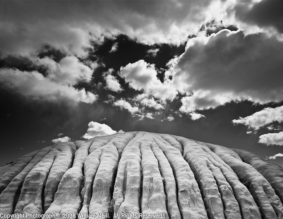 Siltstone and clouds, Utah