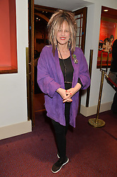 ELIZABETH EMANUEL at the Russian Ballet Icons Gala at The London Coliseum, 33-35 St.Martin's Lane, London on 9th March 2014.