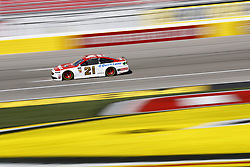 March 2, 2018 - Las Vegas, Nevada, United States of America - March 02, 2018 - Las Vegas, Nevada, USA: Paul Menard (21) takes to the track to practice for the Pennzoil 400 at Las Vegas Motor Speedway in Las Vegas, Nevada. (Credit Image: © Justin R. Noe Asp Inc/ASP via ZUMA Wire)