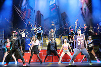 Fame - The Musical: 25th Anniversary new production - Photocall, New Wimbledon Theatre , London UK, 24 February 2014, Photo by Richard Goldschmidt
