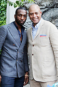 May 14, 2014- Harlem, New York-United States: (L-R) Actor Leon Robinson and Eric Pryor, President, Harlem School of the Arts attend the Harlem School of the Arts Jump and Wave Benefit held at the Harlem School of the Arts- The Herb Alpert Center on May 18, 2017 in Harlem, New York City. Harlem School of the Arts enriches the lives of young people and their families through world-class training in and exposure to the arts across multiple disciplines in an environment that emphasizes rigorous training, stimulates creativity, builds self-confidence, and adds a dimension of beauty to their lives.(Photo by Terrence Jennings/terrencejennings.com)