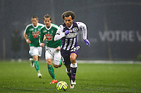 Martin Braithwaite - 28.02.2015 - Toulouse / Saint Etienne - 27eme journee de Ligue 1 -<br />