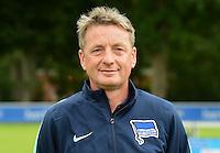 German Soccer Bundesliga 2015/16 - Photocall of Hertha BSC Berlin on 10 July 2015 in Berlin, Germany: asisstant-coach Rainer Widmayer