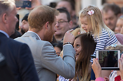 © Licensed to London News Pictures. 03/10/2018. London, UK. Prince Harry visits Edes House, Chichester, Sussex. Photo credit: Ray Tang/LNP