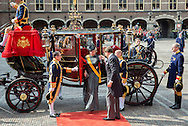 The Hague , 20-09-2016<br /> <br /> Opening parliamentary year of The Netherlands .<br /> <br /> Arrival of Prince Constantijn and Princess Laurentien at the Hall of Knights in The Hague.<br /> <br /> <br /> Royalportraits Europe/Bernard Ruebsamen