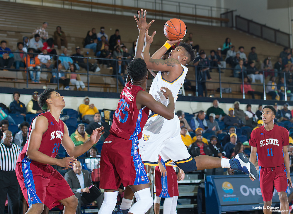 2016-17 A&T Men's Basketball vs SC State -www.ncataggies.com \ Photo by: Kevin L. Dorsey