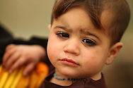 Child of a nomand family of Marshland Arabs in Maysan Province in Iraq