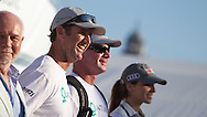 SPAIN, Barcelona, AUDI MedCup, 25th July 2010,  Camper Regatta - Conde de Godo Trophy, Prizegiving ceromony, Quantum Racing.