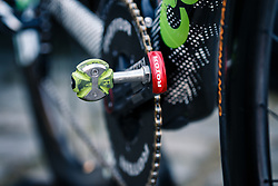 Rotor of Cannondale-Drapac Pro Cycling Team before the start of the 115th Paris-Roubaix (1.UWT) from Compiègne to Roubaix (257 km) at Compiègne, France, 9 April 2017. Photo by Pim Nijland / PelotonPhotos.com | All photos usage must carry mandatory copyright credit (Peloton Photos | Pim Nijland)