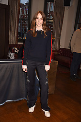 Lady Alice Manners at The Tribe Syndicate launch party hosted by Highclere Thoroughbred Racing at Beaufort House, 354 King's Rd, London England. 25 April 2018.