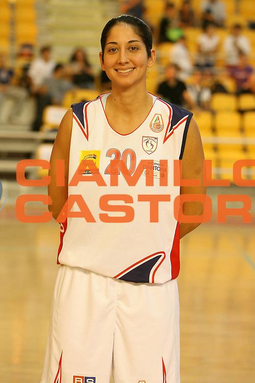 DESCRIZIONE : Roma Lega A1 Femminile 2008-09 Prima giornata Campionato <br /> GIOCATORE : Michelle Greco<br /> SQUADRA : Cras Basket Taranto<br /> EVENTO : Campionato Lega A1 Femminile 2008-2009 <br /> GARA : <br /> DATA : 11/10/2008 <br /> CATEGORIA :<br /> SPORT : Pallacanestro <br /> AUTORE : Agenzia Ciamillo-Castoria/E.Castoria