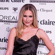 NLD/Amsterdam/20150119 - De Marie Claire Prix de la Mode awards, Nikkie Plessen