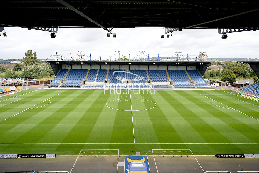 The Kassam stadium during the EFL Sky Bet League 1 match between Oxford United and Peterborough United at the Kassam Stadium, Oxford, England on 20 August 2016. Photo by Dennis Goodwin.