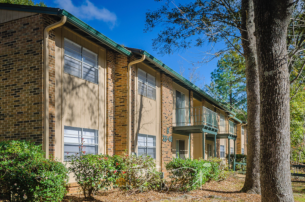 Residential buildings are pictured at Autumn Woods apartment homes, November 27, 2015, in Mobile, Alabama. The apartment complex, located on Foreman Road, is owned by Sealy Management Company. (Photo by Carmen K. Sisson/Cloudybright)