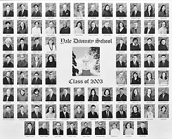2003 Yale Divinity School Senior Portrait Class Group Photograph