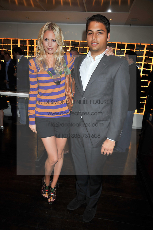 MARISSA MONTGOMERY and JAMIE RUBEN at the launch of Tom Parker Bowles's new book 'Full English' held in the Gallery Restaurant, Selfridges, Oxford Street, London on 9th September 2009.