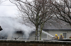 Fatal fire, Rosyth, 16-12-2016<br /> <br /> Fatal fire in Walter Hay Court in Rosyth