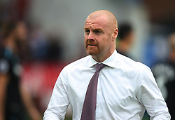 Burnley manager Sean Dyche - Mandatory by-line: Jack Phillips/JMP - 14/10/2017 - FOOTBALL - Turf Moor - Burnley, England - Burnley v West Ham United - English Premier League