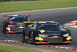 May 7, 2018 - Brands Hatch, Grande Bretagne - 17 BELGIAN AUDI CLUB TEAM WRT (BEL) AUDI R8 LMS STUART LEONARD (GBR) FREDERIC VERVISCH  (Credit Image: © Panoramic via ZUMA Press)