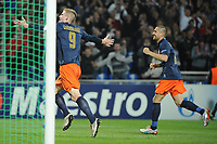 FOOTBALL - UEFA CHAMPIONS LEAGUE 2012/2013 - GROUP STAGE - GROUP B - MONTPELLIER HSC v OLYMPIACOS - 24/10/2012 - PHOTO SYLVAIN THOMAS / DPPI - GOAL GAETAN CHARBONNIER (MHSC)