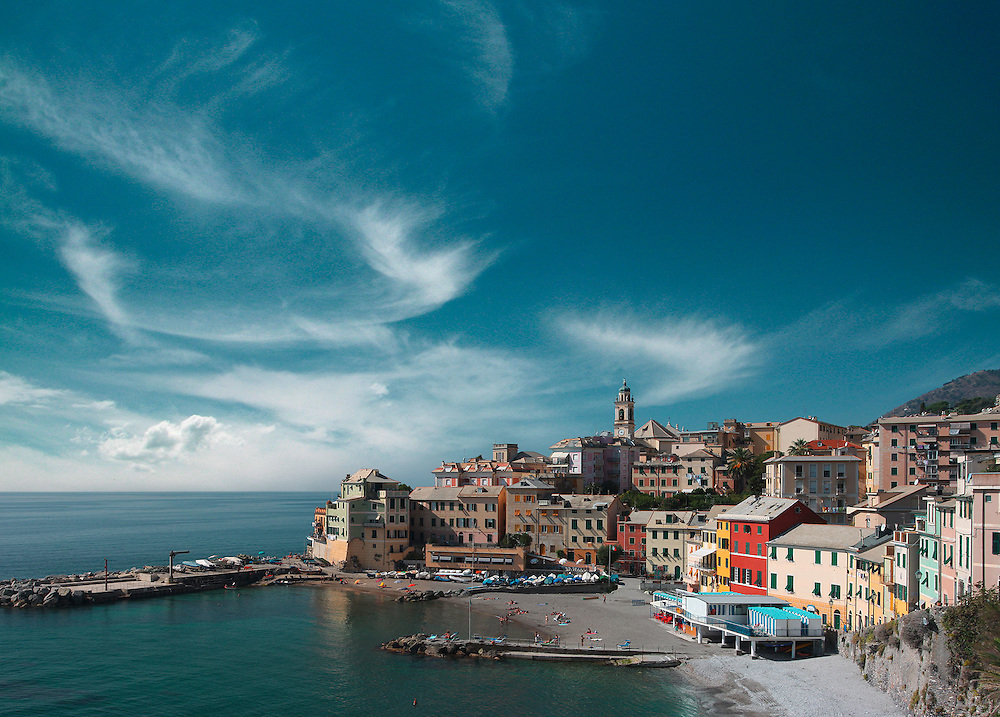 Northern Italian costal region of Liguria.