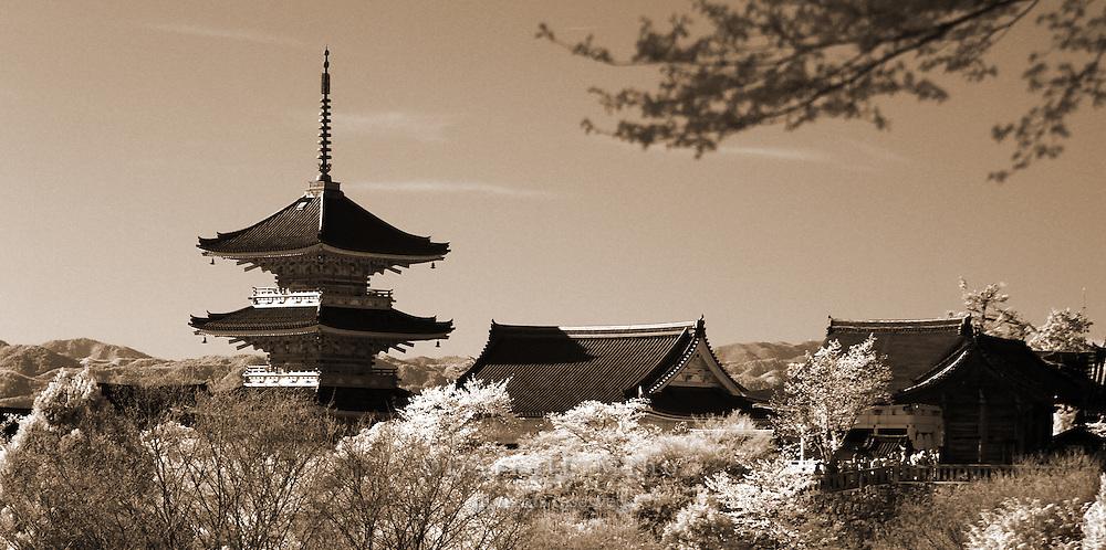 Apr. 08, 2010; Kyoto, Japan - Kyoto..infrared