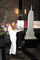 61065602<br /> Mariah Carey starts the 20 Valentines  day weddings Event in The Empire State Building, New York, US, Thursday, 13th February 2014. Picture by  imago / i-Images<br /> UK ONLY