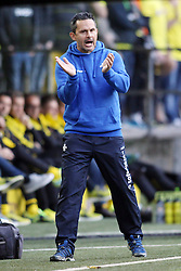 27.09.2015, Signal Iduna Park, Dortmund, GER, 1. FBL, Borussia Dortmund vs SV Darmstadt 98, 7. Runde, im Bild Trainer Dirk Schuster (SV Darmstadt 98) // during the German Bundesliga 7th round match between Borussia Dortmund and SV Darmstadt 98 at the Signal Iduna Park in Dortmund, Germany on 2015/09/27. EXPA Pictures © 2015, PhotoCredit: EXPA/ Eibner-Pressefoto/ Schueler<br /> <br /> *****ATTENTION - OUT of GER*****