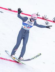 23.02.2019, Bergiselschanze, Innsbruck, AUT, FIS Weltmeisterschaften Ski Nordisch, Seefeld 2019, Skisprung, Herren, Wertungsdurchgang, im Bild Karl Geiger (GER) // Karl Geiger of Germany during the men's Skijumping HS130 competition of FIS Nordic Ski World Championships 2019. Bergiselschanze in Innsbruck, Austria on 2019/02/23. EXPA Pictures © 2019, PhotoCredit: EXPA/ JFK