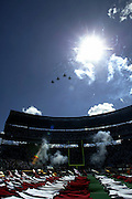 Fly over during the National Anthem at the 2003 Pro Bowl, the NFL All-Star Game at Aloha Stadium in Hawaii on 02/02/2003. The  AFC intercepted 6 passes to defeat the NFC for the third year in a row, this time by a score of 45 to 20. ©Paul Anthony Spinelli