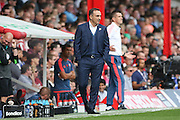 Sheffield Wednesday Manager Carlos Carvalhal during the Sky Bet Championship match between Brentford and Sheffield Wednesday at Griffin Park, London, England on 26 September 2015. Photo by Phil Duncan.