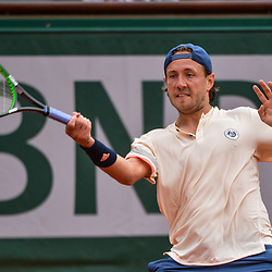 Lucas Pouille of France during Day 6 of the French Open 2018 on June 1, 2018 in Paris, France. (Photo by Baptiste Fernandez/Icon Sport)