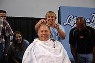 Charles Cox gets a haircut